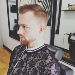modern look by hair style