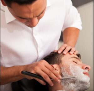 professional shave and trim
